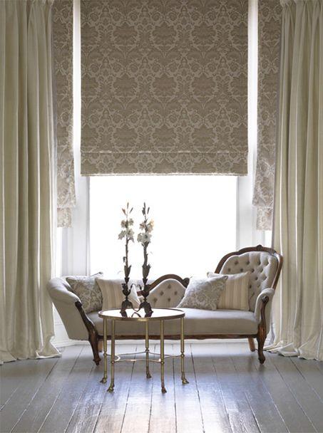 cortinas para sala clássica romana