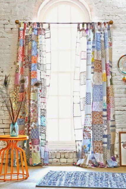 cortinas para sala de tecido