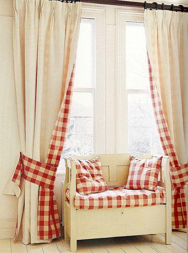cortinas para sala listrada cadrez