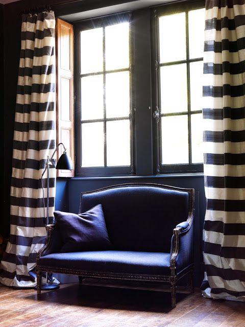 cortinas para sala listras