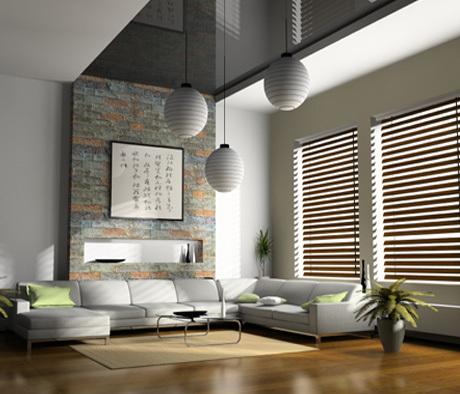 cortinas para sala persianas sofá