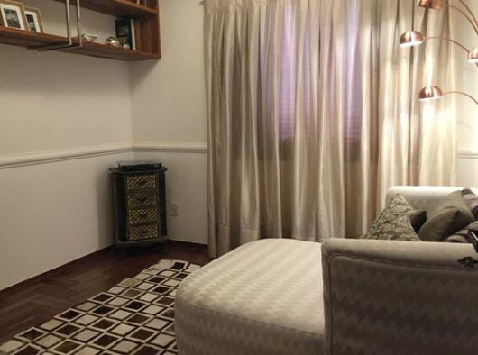 cortinas para sala tecidos nude