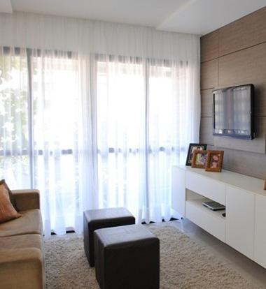 cortinas para sala tecidos voil