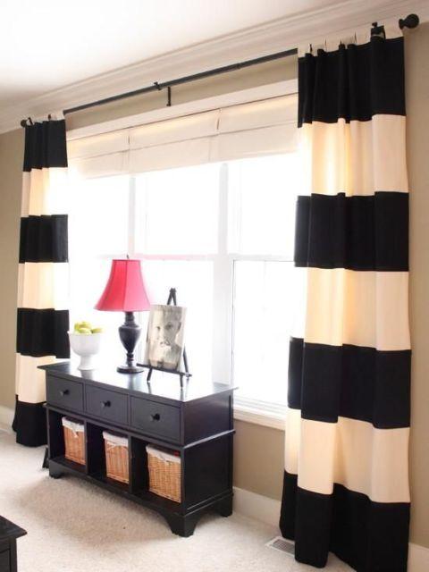 cortinas para sala tecidos