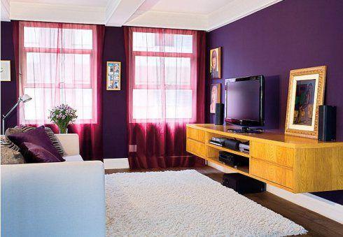 Cortinas para sala como escolher o modelo ideal 60 fotos - Como pintar mi salon ...