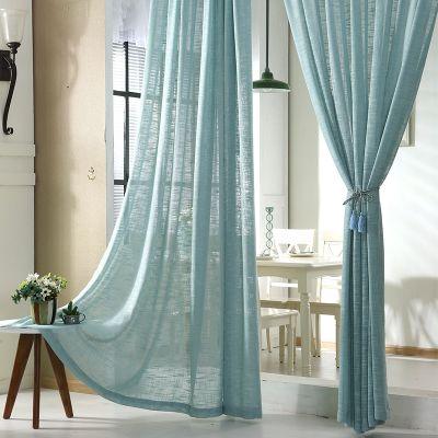 cortinas para sala voil divisão com copa