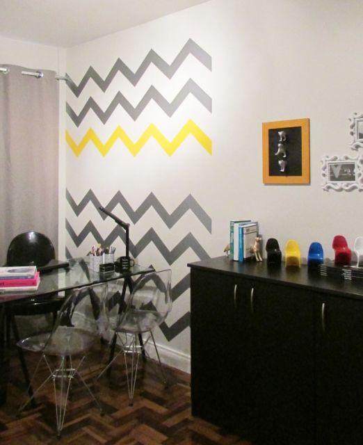 decoração com papel contact na sala como fazer