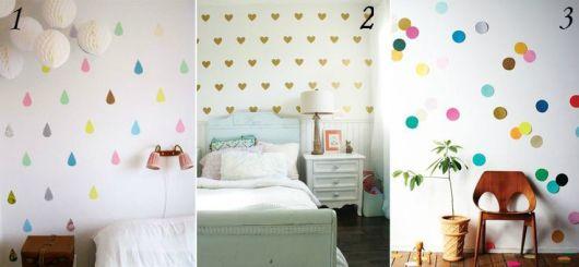 decoração com papel contact no quarto como fazer