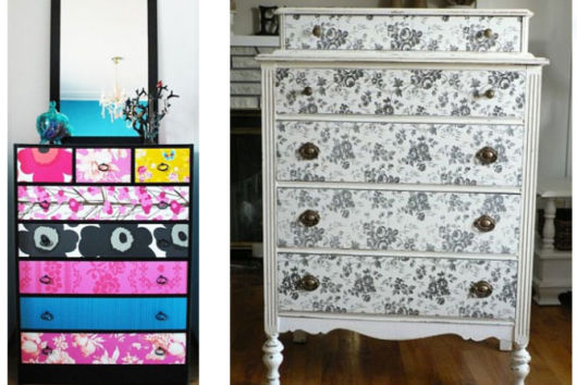 decoração contact em móveis