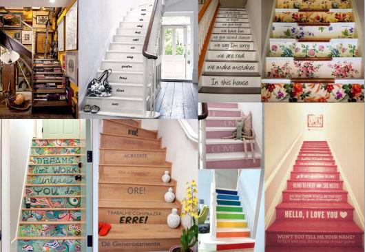 decoração de escada capa do post