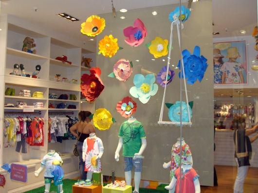 decoração de vitrine infantil