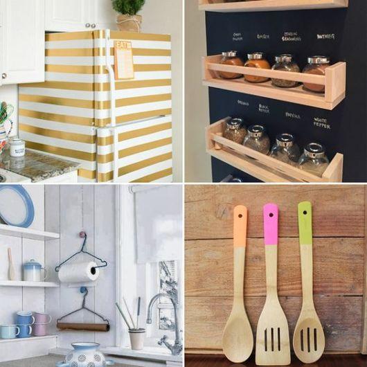 decoração faça você mesmo para cozinha