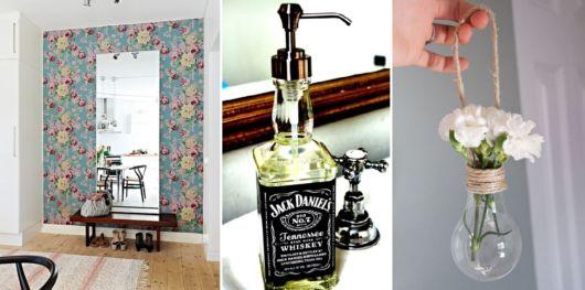 Decoração Faça Você Mesmo (DIY) + de 60 ideias criativas! -> Decoracao De Banheiro Faca Voce Mesmo