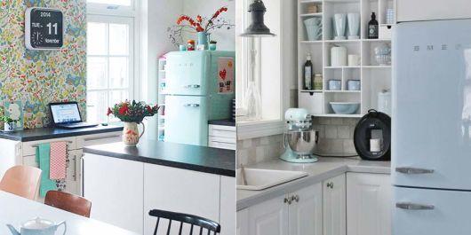 decoracao-geladeira-colorida azul