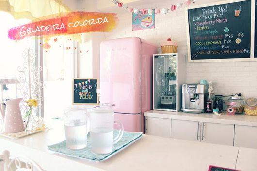 decoracao-geladeira-colorida