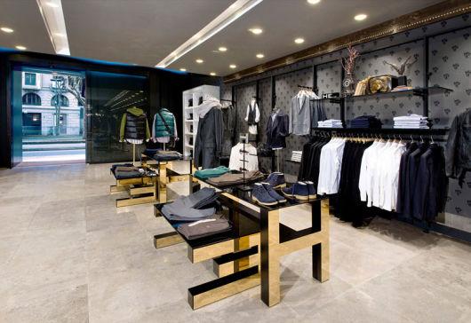 loja masculina chique