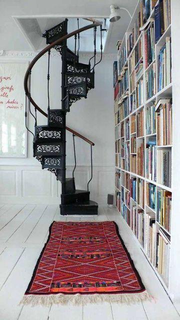 escada ferro fundido