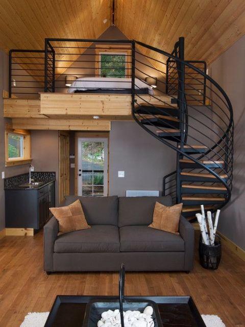escada mezanino