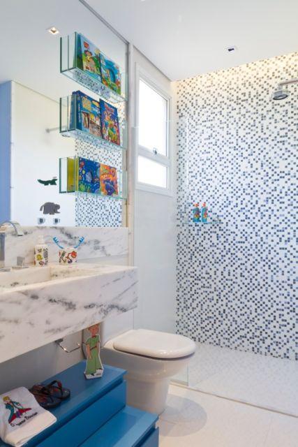 Banheiro infantil decorado