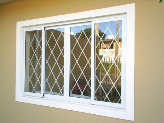 grade janela de vidro