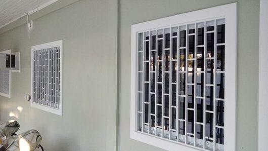 janela com grade