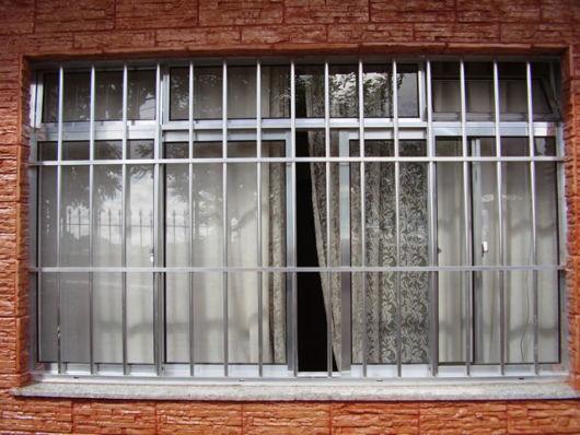 janela de inox