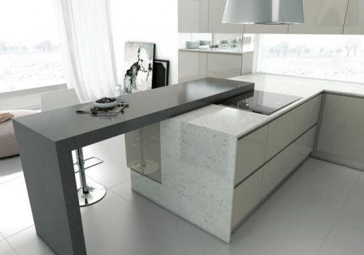 Granito cinza tipos e modelos pre os e aplica es for Tipos de granito para mesada