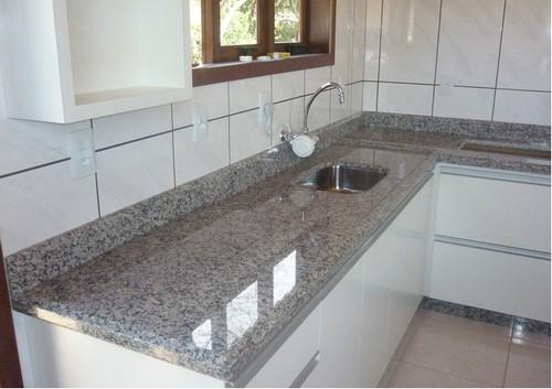 granito prata cozinha