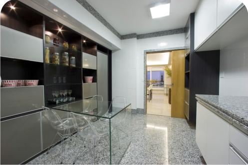 piso de granito cozinha