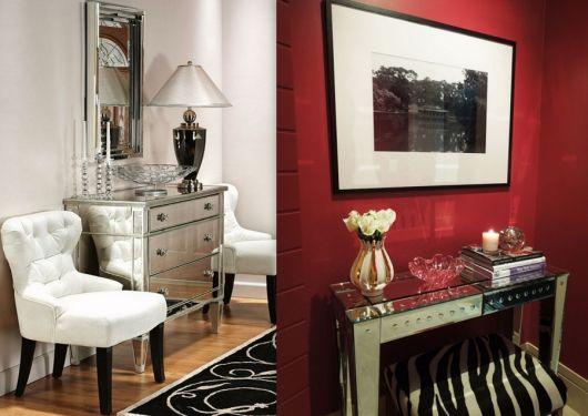 Artesanato De Jornal E Revista ~ Hall de entrada pequeno decorado Dicas e 40 projetos lindos