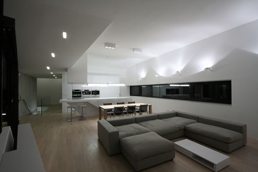 Casas minimalistas 40 inspira es de fachadas e interiores for Decoracion interior de casas minimalistas
