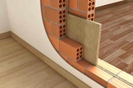 lã de rocha construção