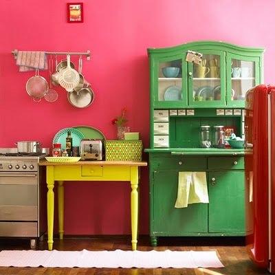 móveis coloridos fazenda