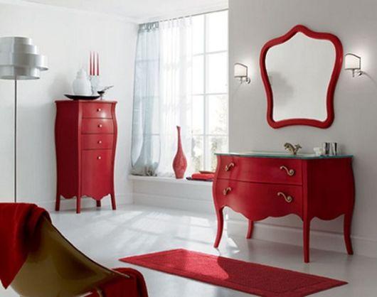 móveis coloridos provençal