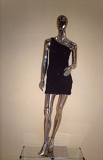 Modelo cromado prata