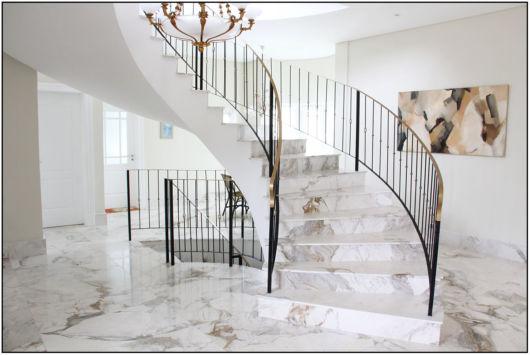 escada mármore Paraná