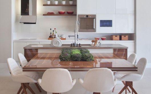 mesa planejada quadrada