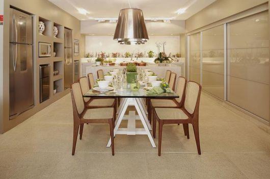 mesa de jantar cavalete