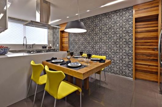Mesas para cozinha como escolher for Modelos de mesas para cafeteria