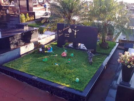 modelos de túmulos de mármore jardim