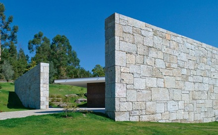 muro de granito