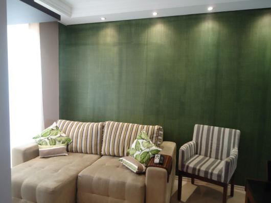 parede com textura sala