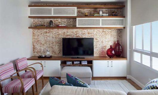 parede com textura simples