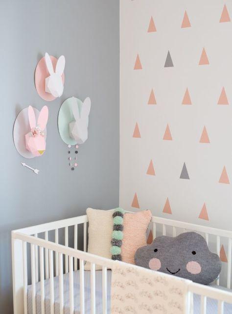 cores quarto de bebê