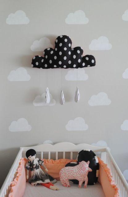 parede de nuvens