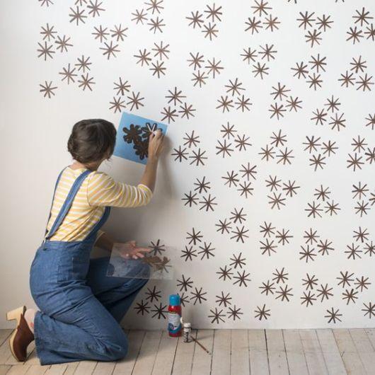 stencil parede