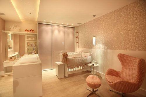 decoração quarto de bebê rosa