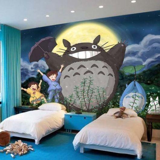 Anime Wallpaper For Bedroom Bedroom Arrangement Pictures Vintage Teenage Bedroom Ideas Hippie Bedroom Decor: Pintura De Parede: Como Pintar Passo A Passo + Ideias Lindas