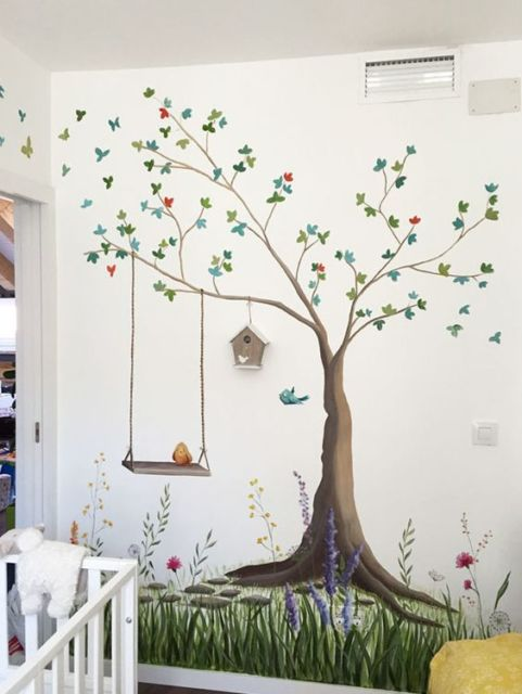 Pintura de parede como pintar passo a passo ideias lindas - Pintura metalizada para paredes ...