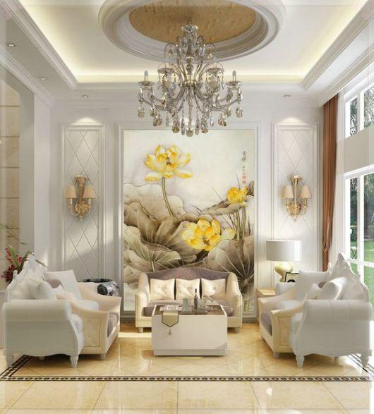 Pintura de parede como pintar passo a passo ideias lindas for Pintura decorativa efeito 3d